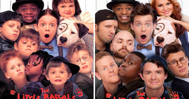 'The Little Rascals' Cast Just Recreated Their Poster In Honor Of The Movie's 20th Anniversary